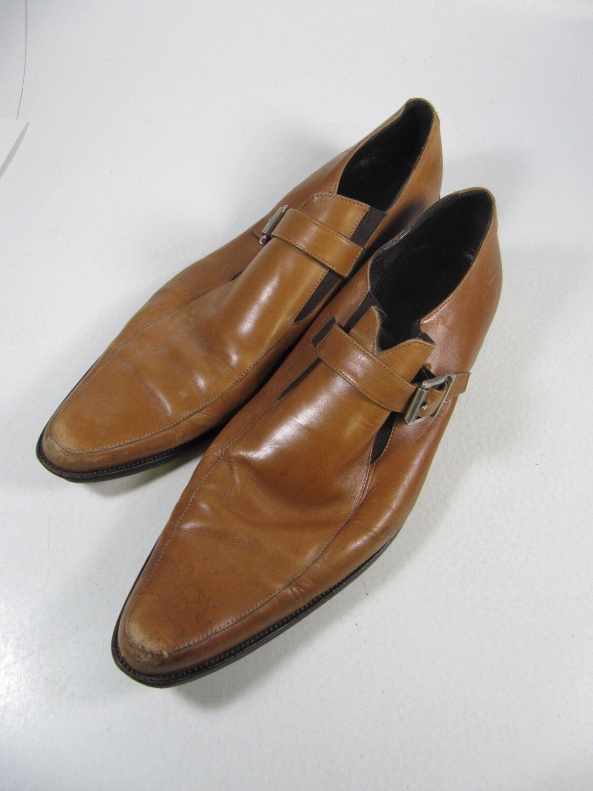 acquistare ora Donald J Pliner Jimmy Marrone Tan Dress Dress Dress Uomo scarpe Buckle Dimensione 13 M I20  n ° 1 online