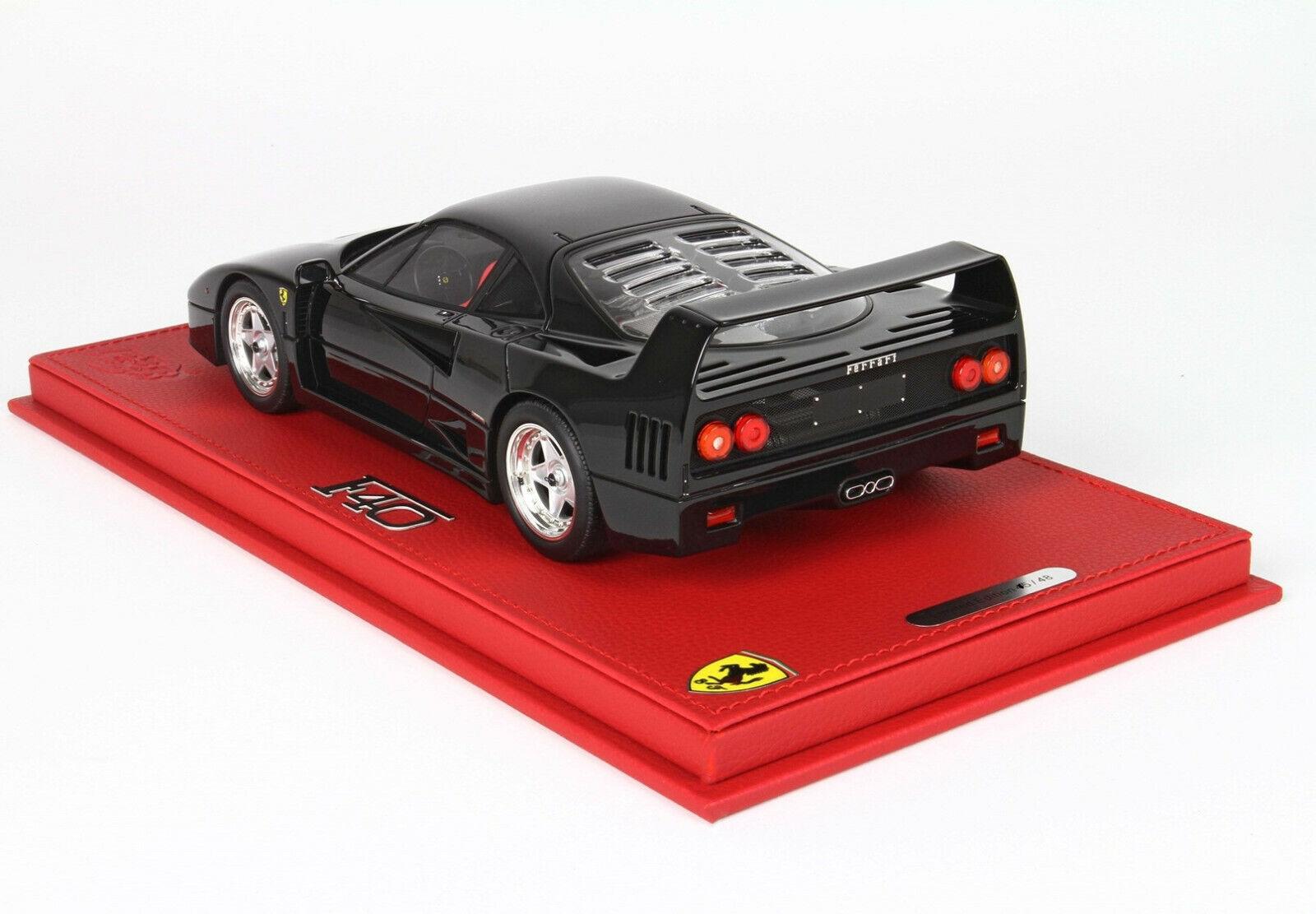 Ferrari F40 1987 1 18 schwarz Pastello lim.ed.35 48 pcs P18151C BBR NO DISPLAY