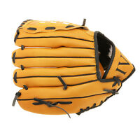 10.5'' Baseball Softball Glove Youth Mitts Outdoor Team Sports Left Hand Brown