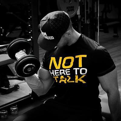 "/""Not Here Talk/"" Stringer Tank Dedicated Nutrition"