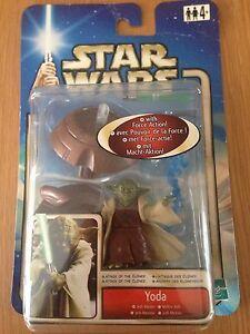 MéThodique Hasbro Star Wars Yoda Jedi Master Attack Of The Clones Sealed Utilisation Durable