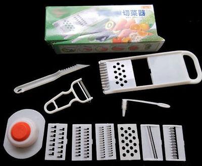 1 Set Fruit & Vegetable Spiral Slicer Potato Cutter Cooking Peelers Kitchen Tool