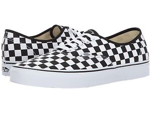 sports shoes 85c5a 15b40 Details about NEW Vans Authentic Checkerboard Chex Black White Classic Mens  Sizes Coast