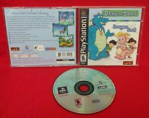 Dragon Tales Dragon Seek -  Playstation 1 2 PS1 PS2 Game Black Label Mint Rare