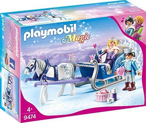 9474 Spielzeug-Schlitten mit Königspaar, Unisex-Kinder Neu