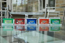 Pokemon Gameboy Games Bundle Leaf Green, Emerald, Fire Red, Sapphire And Ruby