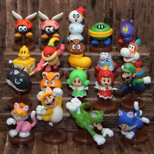 CHOCO-EGG-SUPER-MARIO-3D-World-Figure-19p-Assort-Nintendo-Figurines-Bros-Cat