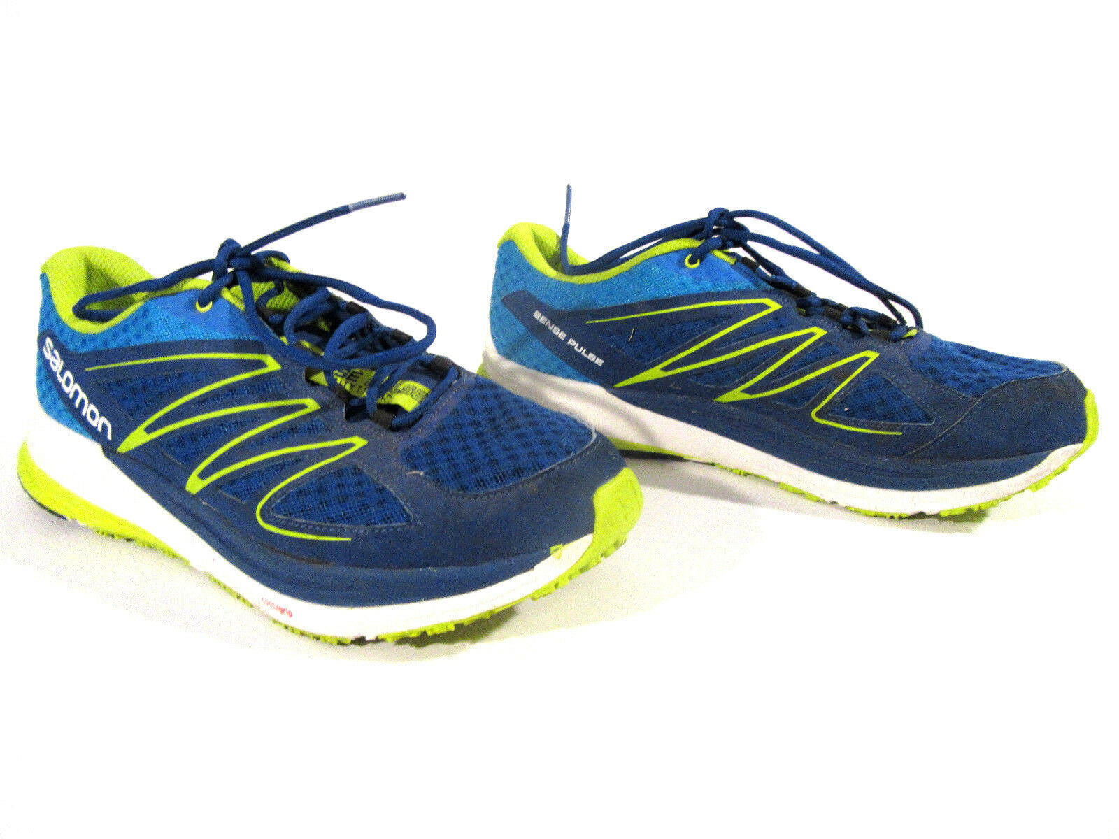 Salomon Men's Sense Pulse Gentiane Athletic Running shoes sz 12.5 378335