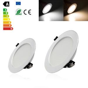 Dimmable-21W-18W-15W-12W-9W-7W-5W-3W-LED-Recessed-Ceiling-Panel-Down-Light-Lamp