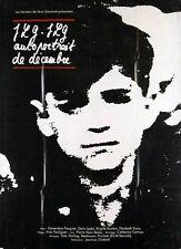 Affiche 120x160cm JLG JLG AUTOPORTRAIT DE DECEMBRE 1995 Jean Luc Godard