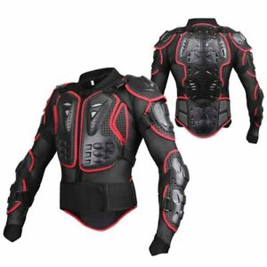 997b37b4 Details about Full Body Armor Protector Jacket Dirt Bike Motorcycle  Off-Road Protective Gear