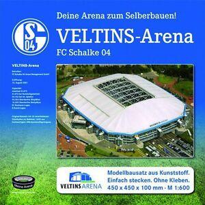 FC-Schalke-04-Stadion-Veltins-Arena-Stadionbausatz-zum-Selberbauen-Fanartikel