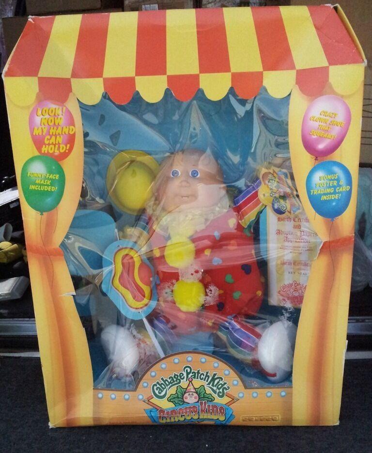 Cabbage Patch Kids Vintage Circus Kids Coleco Bald Boy Rex Neal