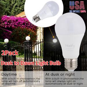 2Pack-LED-Sensor-Bulb-E26-E27-7W-Dusk-To-Dawn-Light-Sensor-Lamp-Indoor-Outdoor