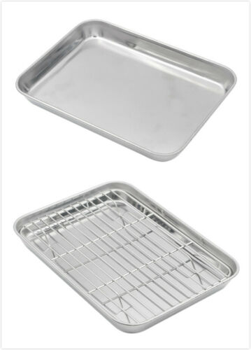 Cooling Rack Available Aspire Oven Tray Pan Stainless Steel Cookie Baking Sheet