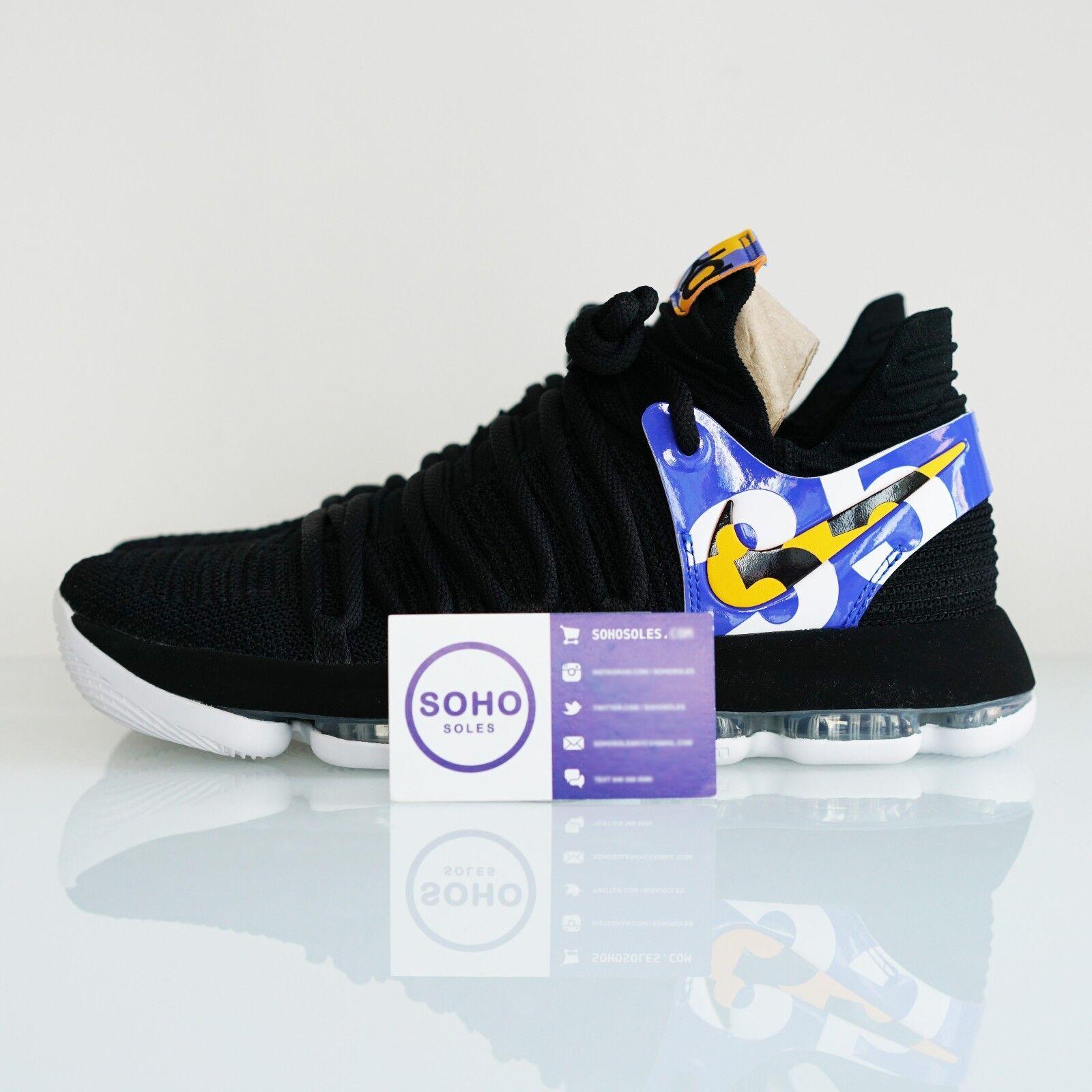 Nike Zoom KD anteojeras 10 X TV PE anteojeras KD av0771-001 8 9,5 de 10 10,5 11 qué Durant nuevos zapatos para hombres y mujeres, el limitado tiempo de descuento 163f08