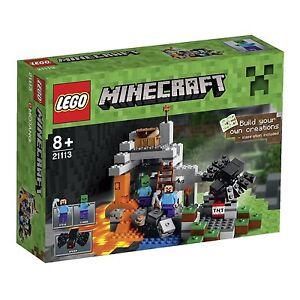 Lego Minecraft - 21113 Jeu De Construction La Grotte
