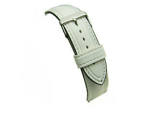 White-water-resistant-divers-silicon-watch-strap-18mm-20mm-22mm
