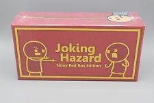 Sealed Kickstarter Joking Hazard Shiny Red Box Edition Cyanide & Happiness Game