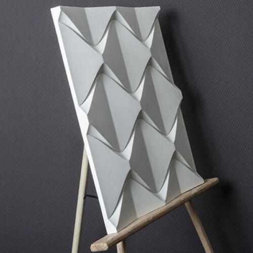 Nouveau-Pyramide Qualité Plastique Press Mold making of 3d panneaux muraux de gypse