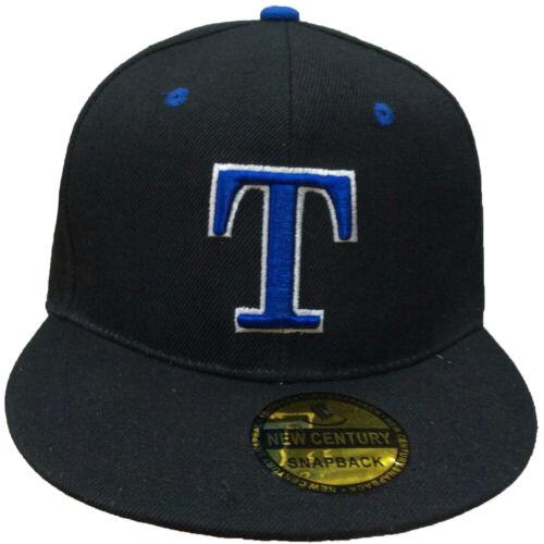 T Embroidered Hip hop Snapback Adjustable Baseball Cap Hats LOT Buy 3 get 1 free