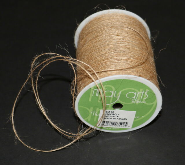 SM-10 May Arts Burlap String 1mmX400yd-Natural
