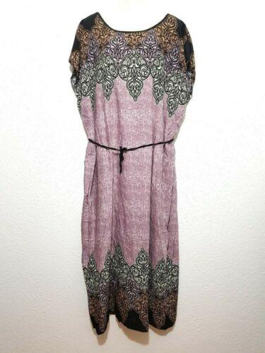 Kaftankleid Maxikleid Strandkleid Sommerkleid langes Tunikakleid Kimono Kaftan