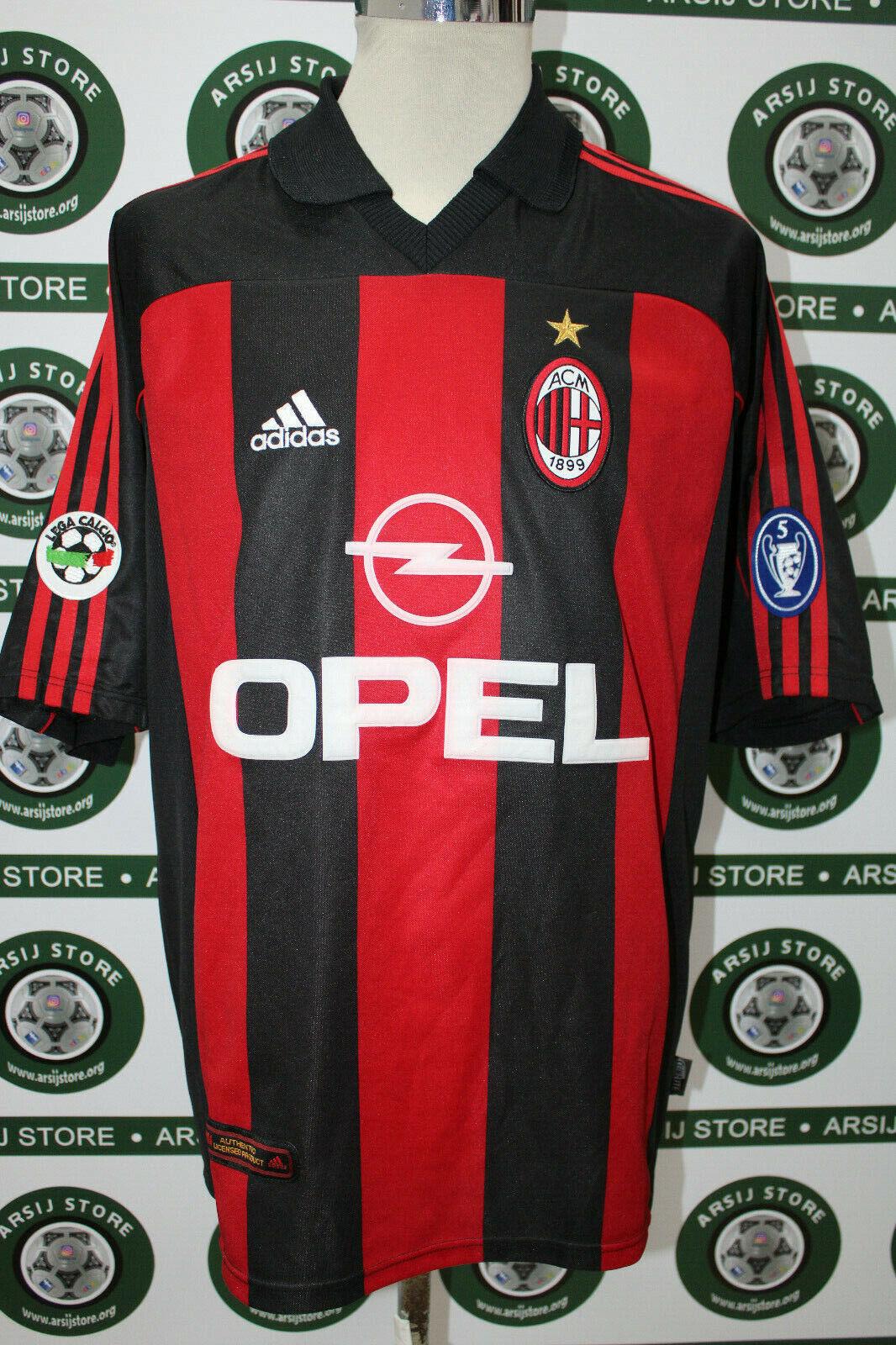 Maglia calcio MILAN INZAGHI TG XL  shirt maillot trikot camiseta
