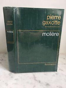 Piedra Gaxotte Academia Française Molière Flammarion 1977