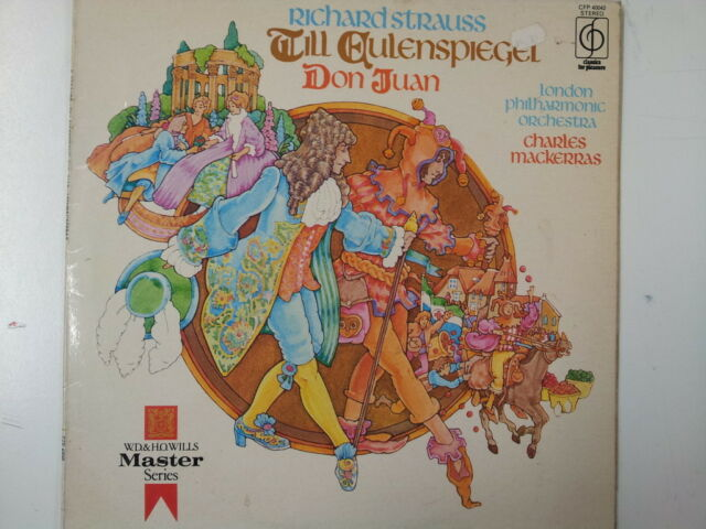 LP RICHARD STRAUSS Till Eulenspiegel Don Juan  CFP40042