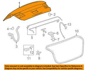 chevrolet gm oem 11 15 cruze trunk lid 95213159 ebay Chevrolet Cruze Diesel Def image is loading chevrolet gm oem 11 15 cruze trunk lid