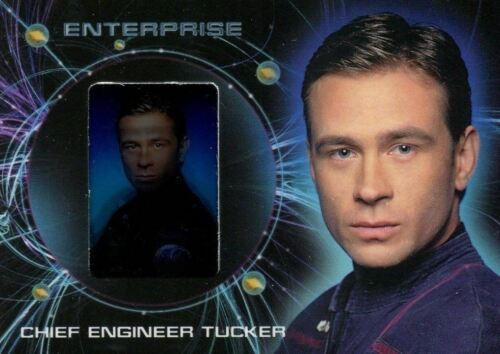 Star Trek Enterprise Season 2 Two Gallery Chase Card G3 Trip Tucker
