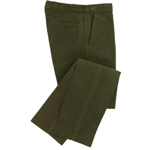 Royaume-Uni fait Moleskine Olive Pantalon par wathen Gardiner-plus de 200 ans d/'expérience!