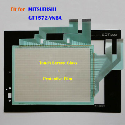 for MITSUBISHI GT1572-VNBA GT1572VNBA Touch Screen Glass Protective Film New