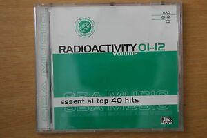 Details about Radioactivity Volume 01-12 Essential Top 40 Hits Pulse Music  DJ Tools (Box C108)