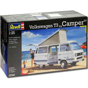 REVELL-volkswagen-t3-camper-issue-Modele-Kit-07344