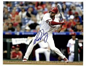 Mitch Walding signed auto autograph 8x10 photo Phillies ID2