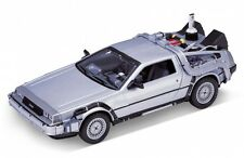Welly Ritorno al Futuro 2 Delorean TIME MACHINE scala 1/24 modello Pressofuso Auto