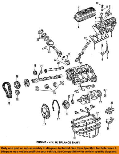 GM OEM-Engine Crankshaft Crank Seal 89018163