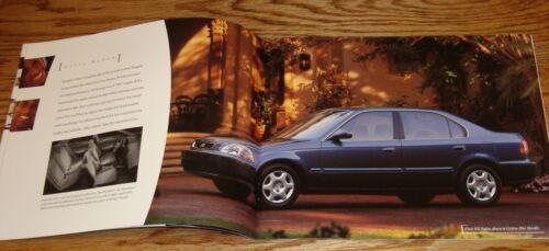 Original 1998 Honda Full Line Sales Brochure 98 Accord Civic CR-V