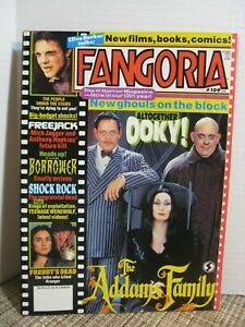 Fangoria-109-January-1992-Addams-Family-Pull-out-Poster-Elm-Street