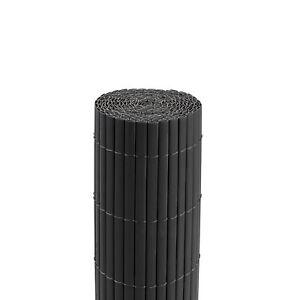Sichtschutzmatte-200-x-400-cm-grau-Windschutz-Sichtschutz-Sichtschutzzaun-B-Ware