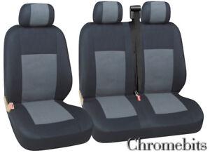 FIAT DUCATO VAN SEAT COVERS GREY HEAVY DUTY WATERPROOF SINGLE /& DOUBLE