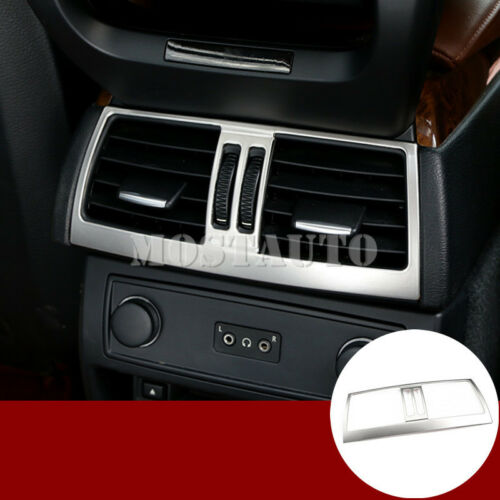 For BMW X5 E70  Inner Console Armrest Rear Air Vent Outlet Cover Trim 2008-2013