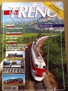 Tutto Treno 107 1998 Locomotive D 341 - Poster E 412