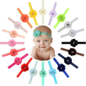 20pcs-2-Inch-Chiffon-Flower-Hair-Bows-Headbands-for-Baby-Girl-Infants-Toddlers
