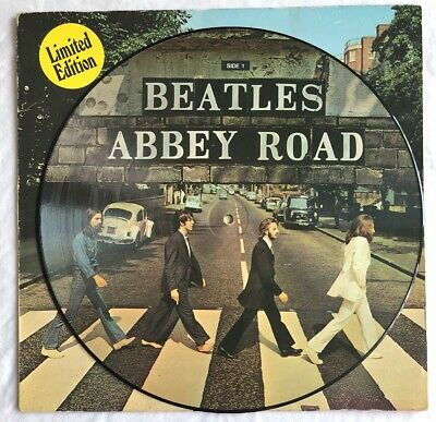THE BEATLES -Abbey Road- Rare Original Picture Disc (Dutch) Vinyl Record