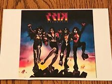 """KISS DESTROYER IRON ON TRANSFER  5"""" x 5""""     WOW~ AWESOME PICTURE!"""