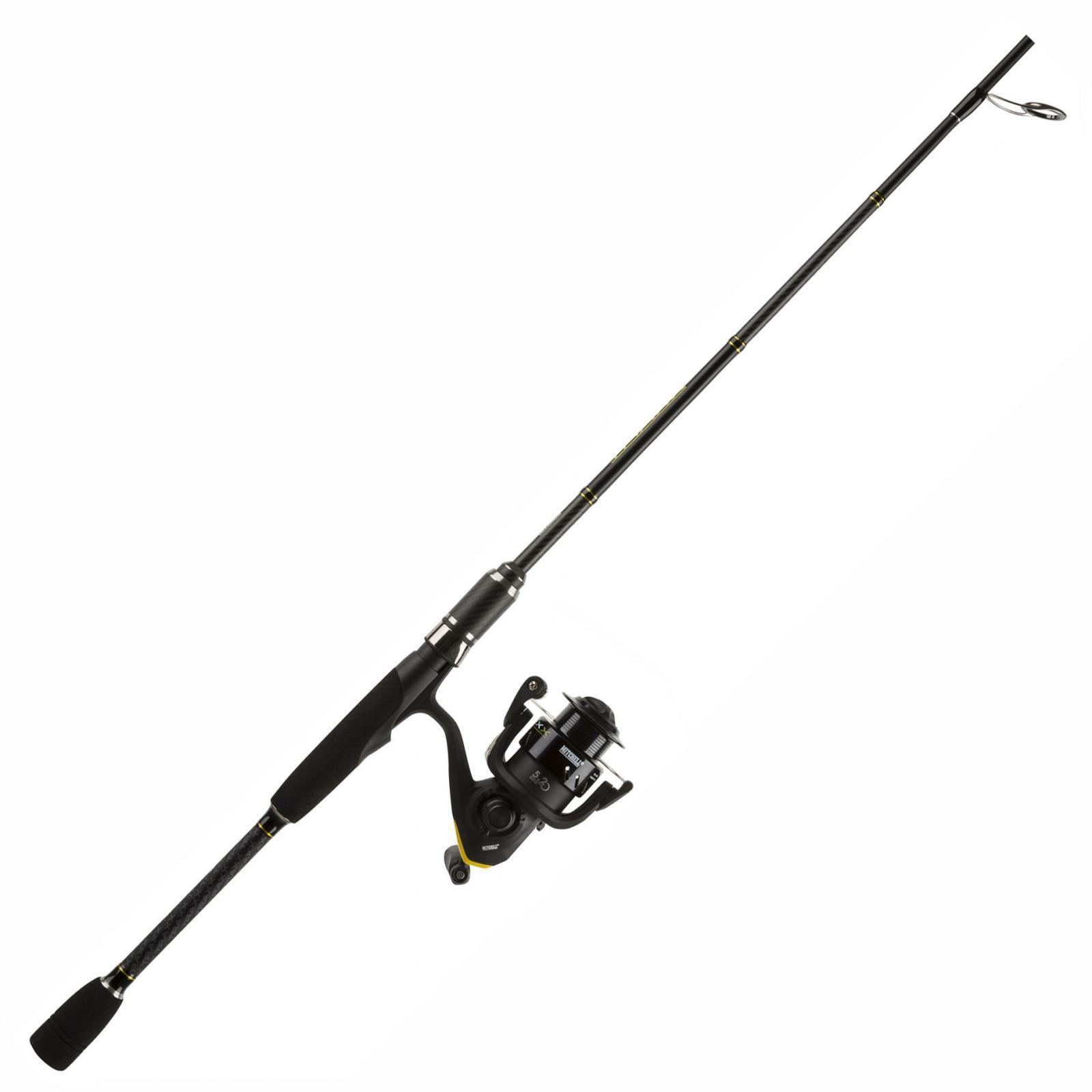 1455416 Combo Mitchell Traxx Pesca Spinning Canna 2,10 m Mulinello 2000 RN