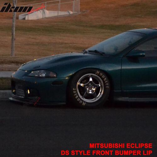 Fits 97-99 Mitsubishi Eclipse Aero One Bumper Lip Spoiler Urethane